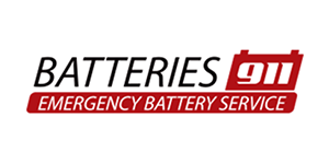 BATTERIES 911 Logo